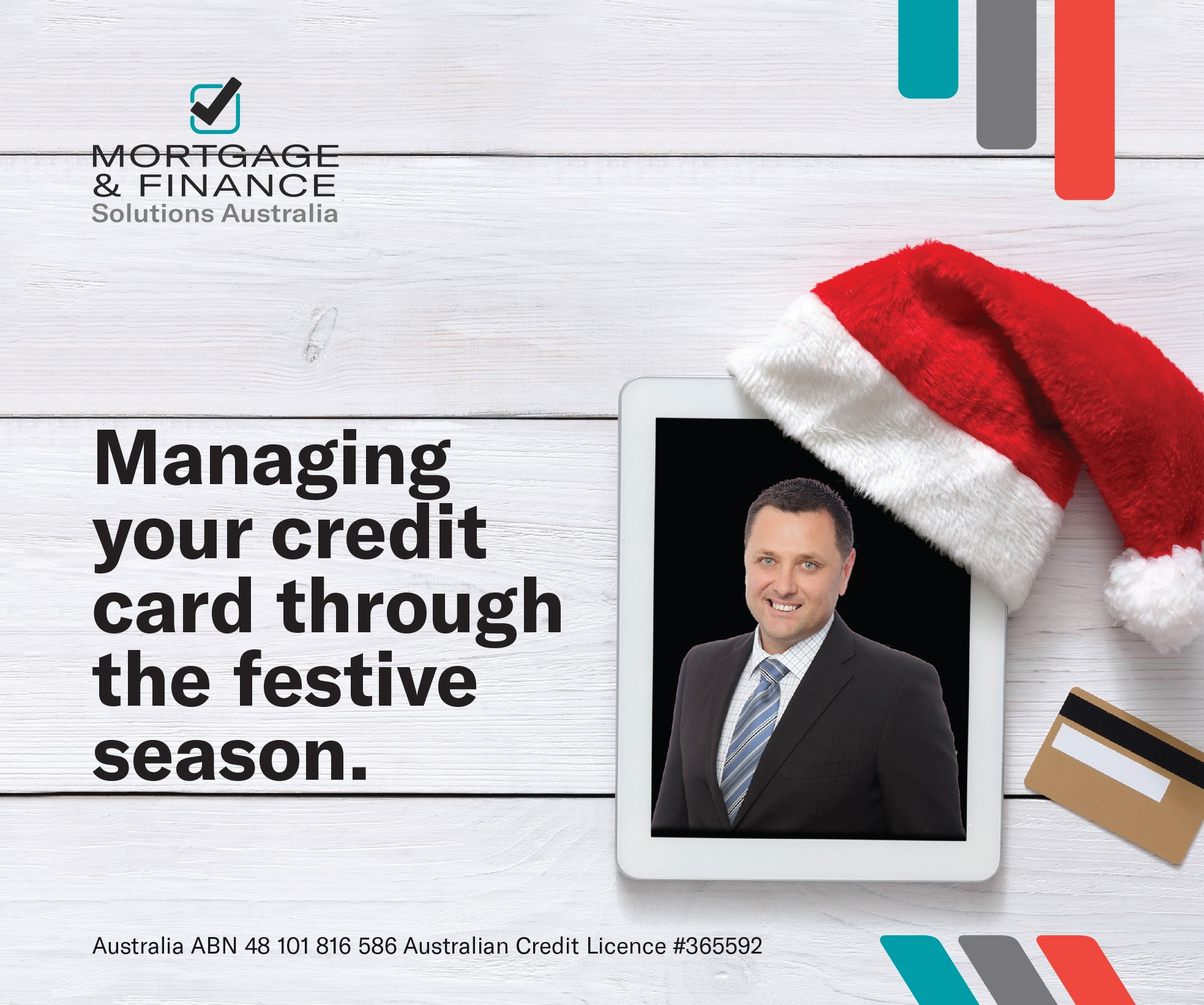 Managing your credit card through the festive season