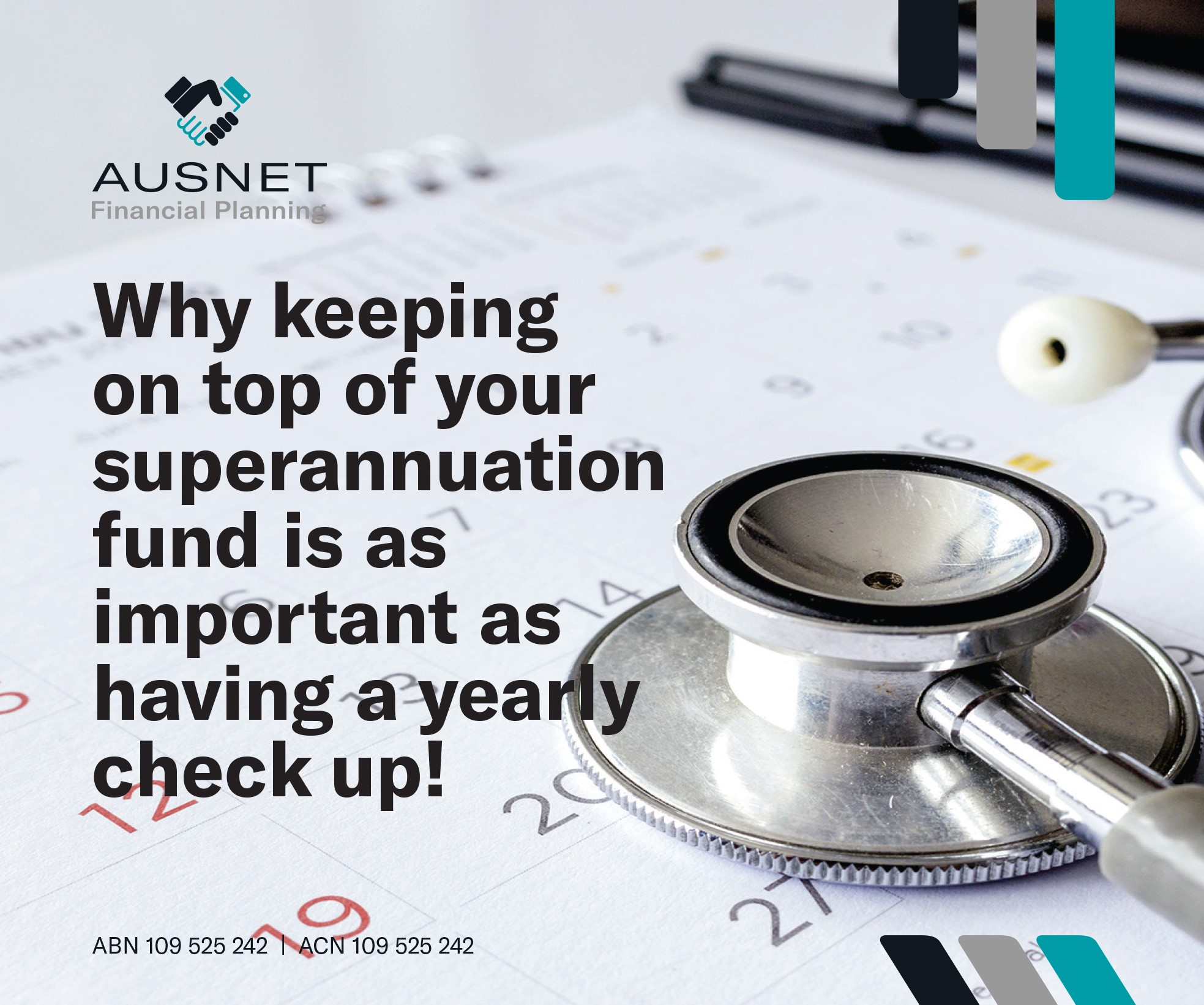 Why keeping on top of your superannuation fund is as important as having a yearly check up!