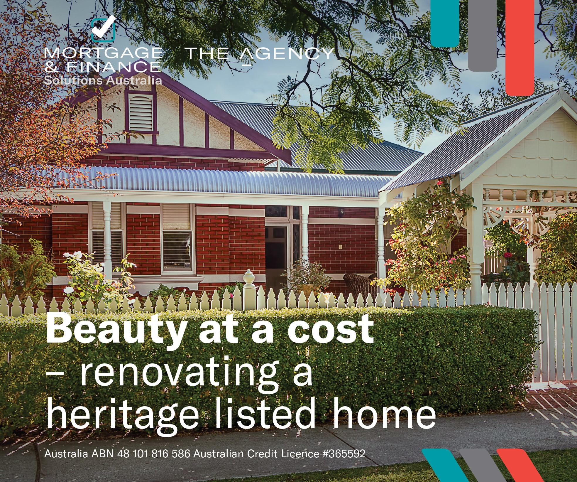 Beauty at a cost - renovating a heritage listed home