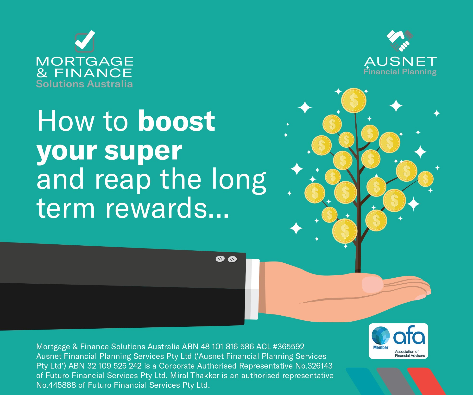 How to Boost your Super and reap the long term rewards
