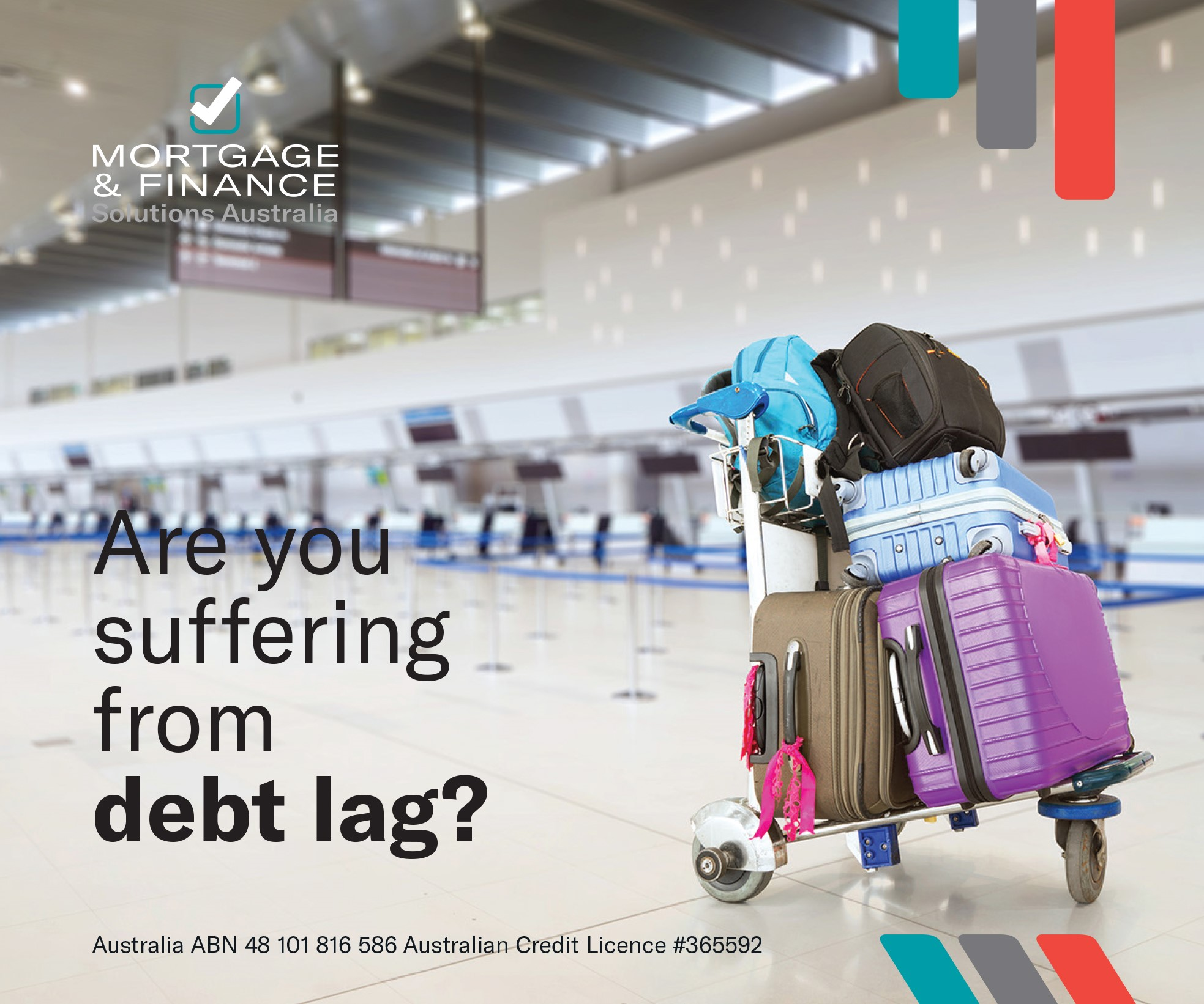 Are you suffering from DEBT LAG?